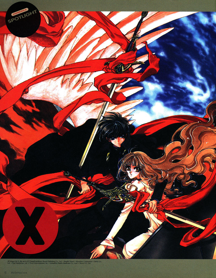 CLAMP X 1999 Movie - Rintaro Interview - Gundam Wing ...