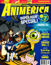 Anime on TV in 2000 Animerica July 2000