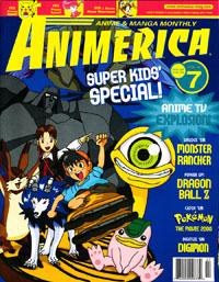 Anime on TV in 2000 Animerica July 2000