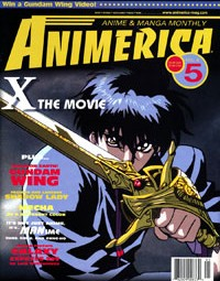 CLAMP X 1999 Movie – Rintaro Interview – Gundam Wing – Animerica May 2000