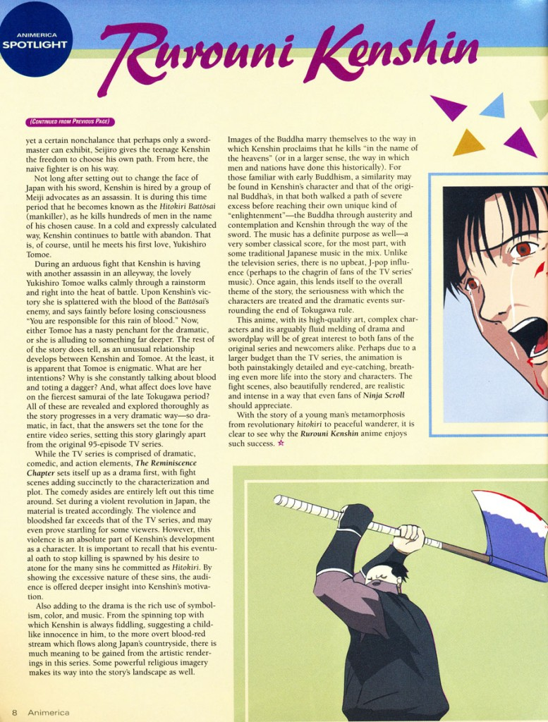 rurouni kenshin reminiscence chapter anime 3